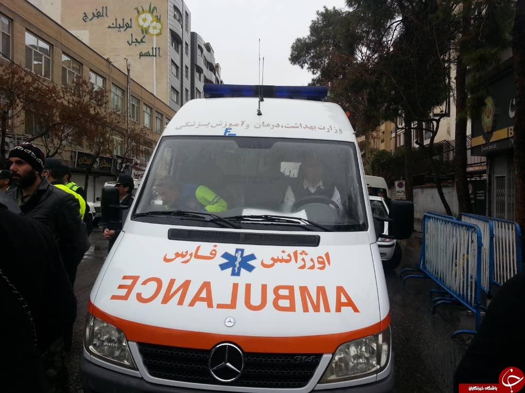 خدمات رسانی سازمانهای مختلف در راهپیمایی ۲۲ بهمن