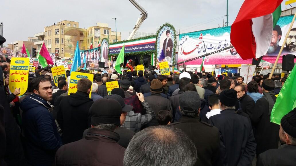 حضورپرشور مردم آذربایجان شرقی در راهپیمایی ۲۲ بهمن ۹۷