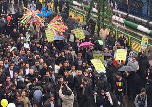 بازتاب راهپیمایی ۲۲ بهمن ۹۷| الاخباریه: در چهلمین سالگرد پیروزی انقلاب، تمامی ایران شاهد برپایی راهپیماییهای باشکوه بود