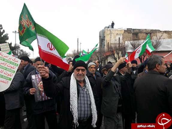 عکسها و حاشیههای راهپیمایی ۲۲ بهمن ۹۷ در استان مرکزی