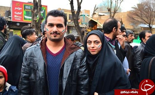 حماسه ای دیگر از وحدت و همبستگی مردم دارالعباده یزد در فجر۹۷ +تصاویر