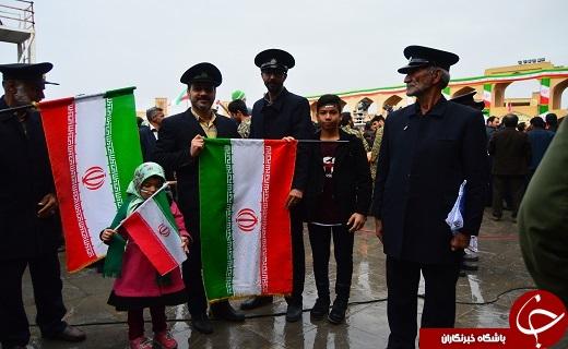 عکسها و حاشیههای راهپیمایی ۲۲ بهمن ۹۷ در استان یزد+ تصاویر