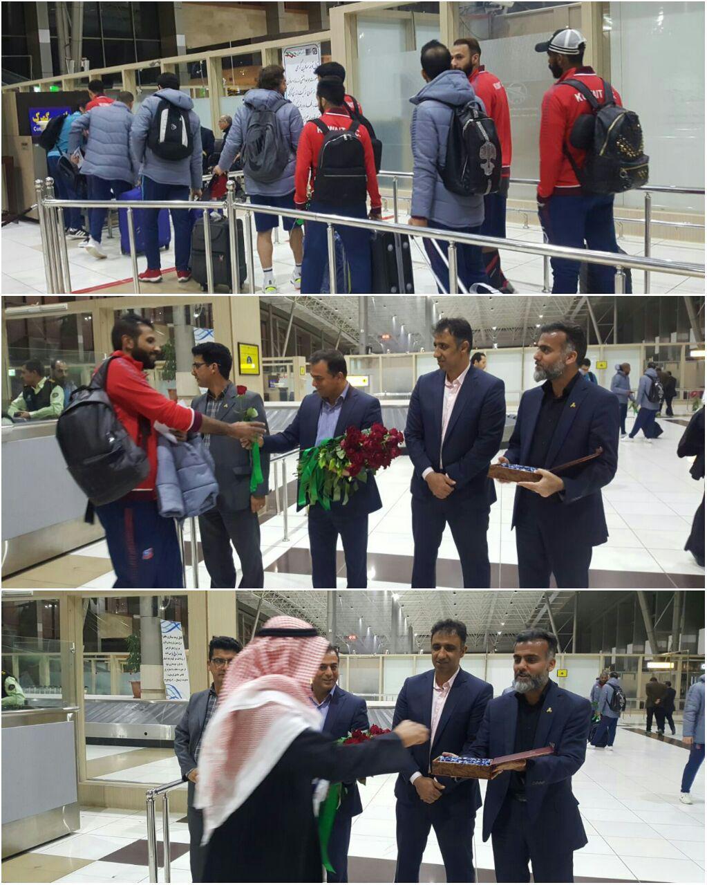 استقبال ذوبی ها از کاروان الکویت