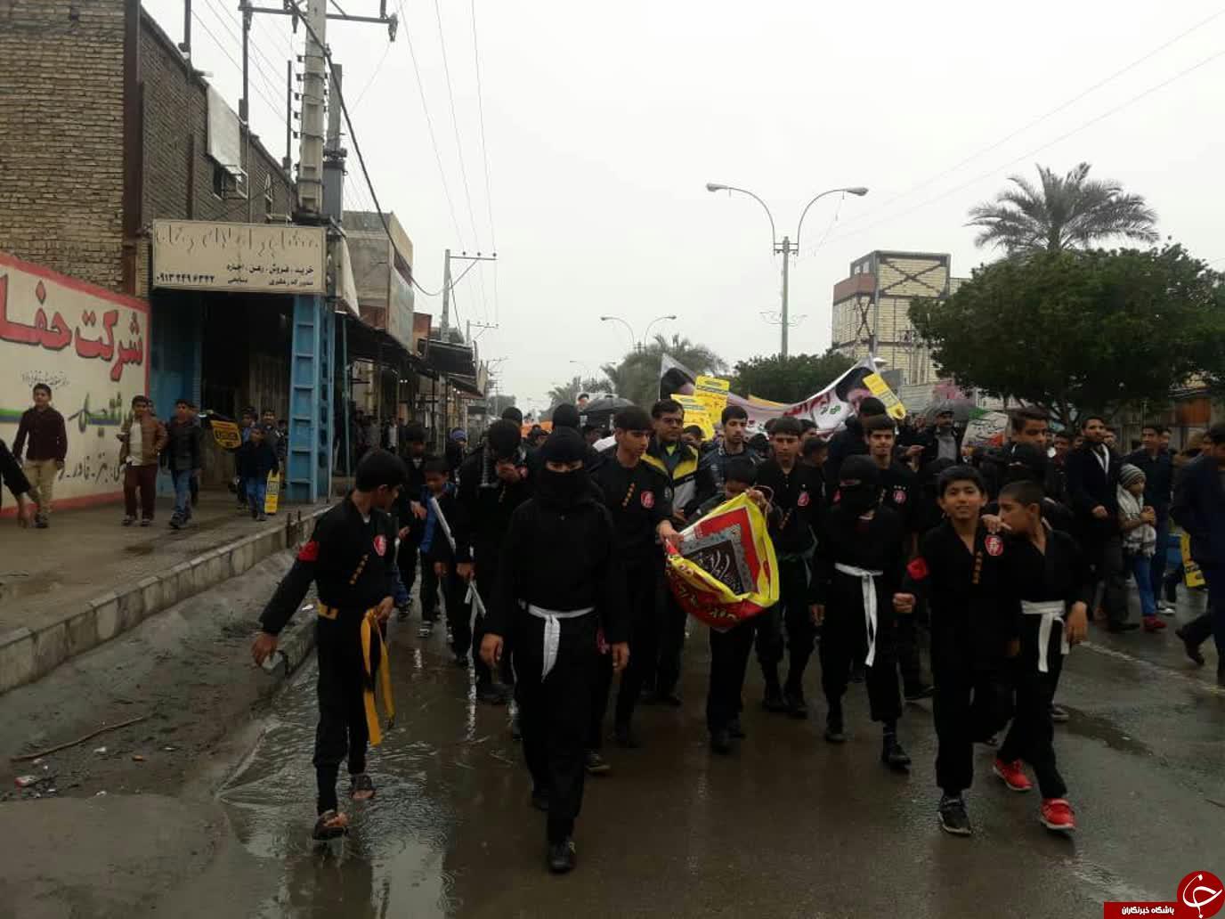 جلوههایی از حضور جامعه ورزش و جوانان استان کرمان + تصاویر