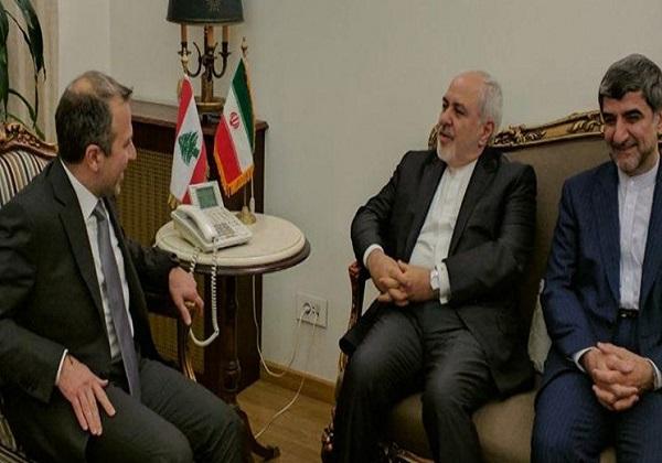 دیدار وزیر خارجه ایران و لبنان در بیروت