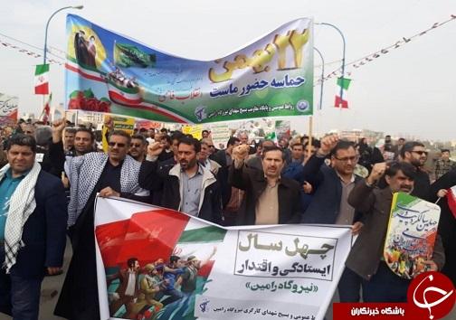 راهپیمایی ۲۲ بهمن ۹۷ در خوزستان