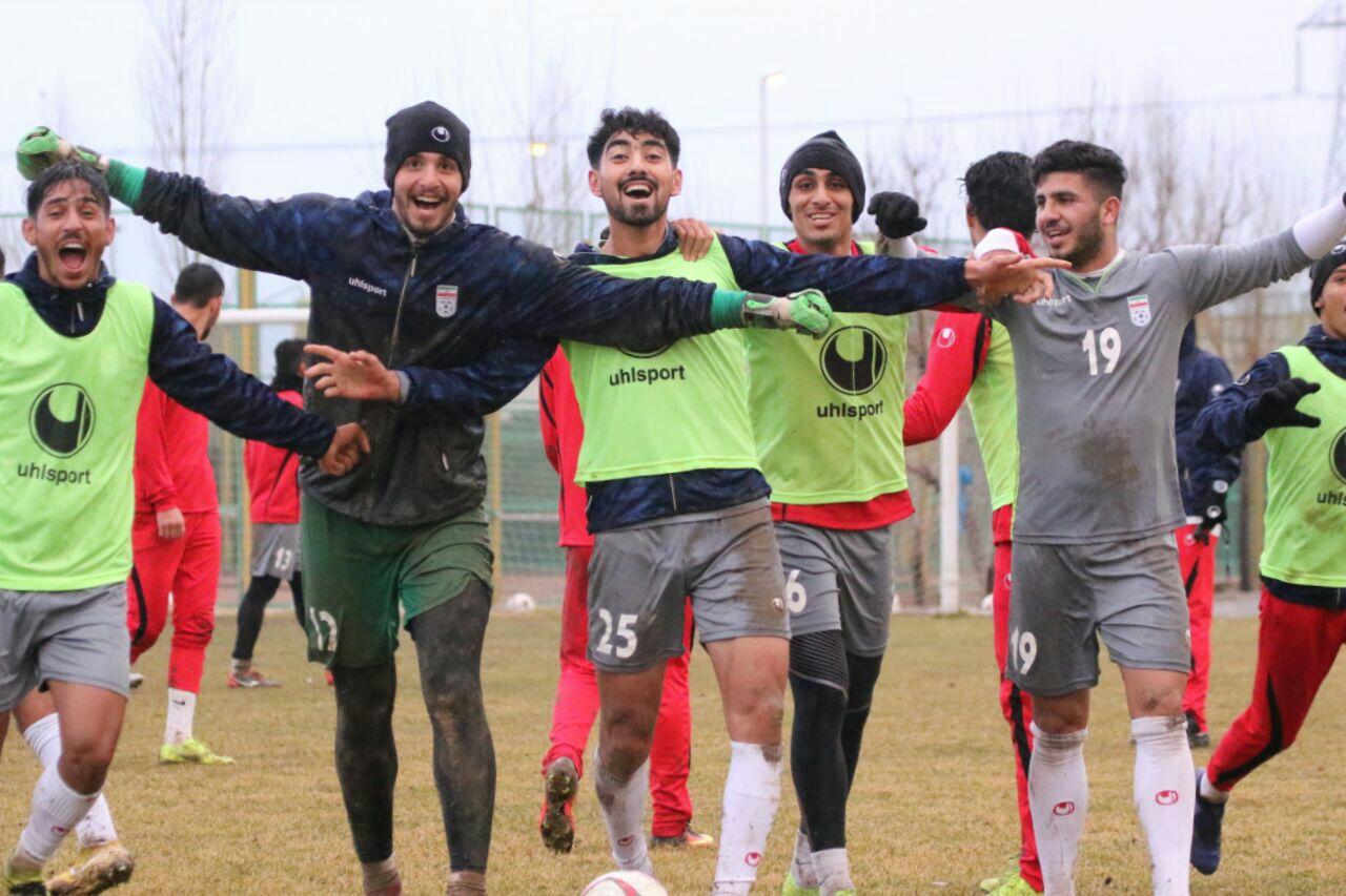 دیدار دوستانه تیم ملی فوتبال امید ایران به دلیل کمبود بازیکن لغو شد!