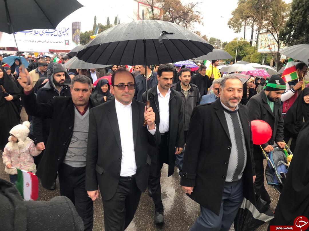 حضور مسئولان استان فارس در تولد چهل سالگی انقلاب + تصاویر
