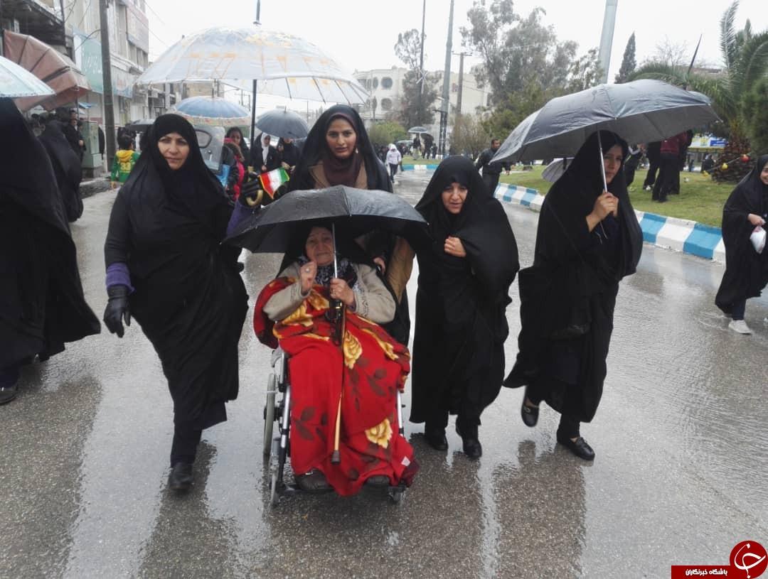 عکسها و حاشیههای راهپیمایی ۲۲ بهمن ۹۷ در استان فارس