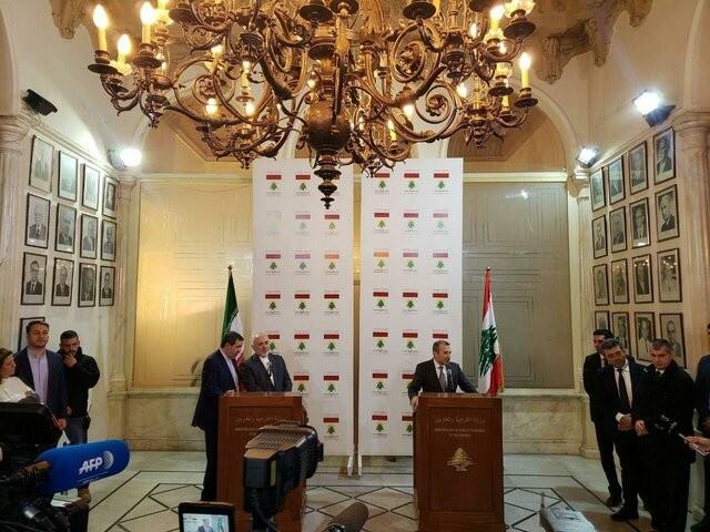 تشکر ظریف از موضع قوی دولت لبنان علیه اجلاس ضد ایرانی ورشو