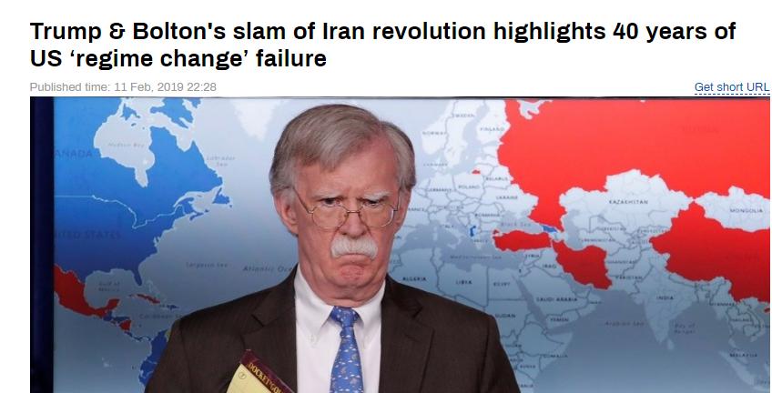 شکست انقلاب اسلامی یا ناکامی سیاست ۴۰ ساله تغییر نظام در تهران؟