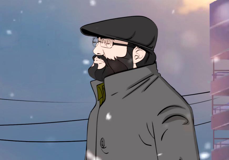 زندگی شهید عماد مغنیه در یک انیمیشن کوتاه