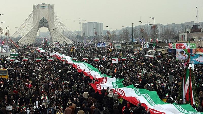 مراسم راهپیمایی ۲۲ بهمن ماه بدون کوچکترین حاشیه امنیتی برگزار شد