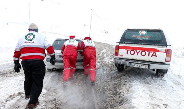 امدادرسانی به ۹ هزار نفر در ۲۰ استان متاثر از حوادث جوی
