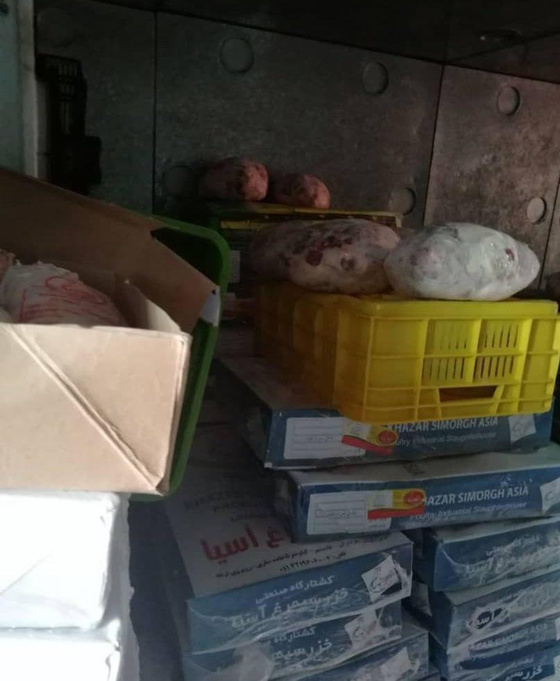 کشف بیش از ۴ هزار کیلوگرم گوشت احتکار شده در غرب تهران