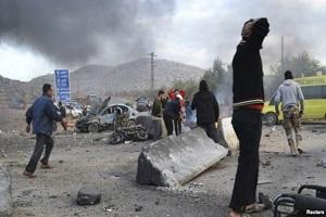 انفجار در گذرگاهی مرزی میان سوریه و ترکیه
