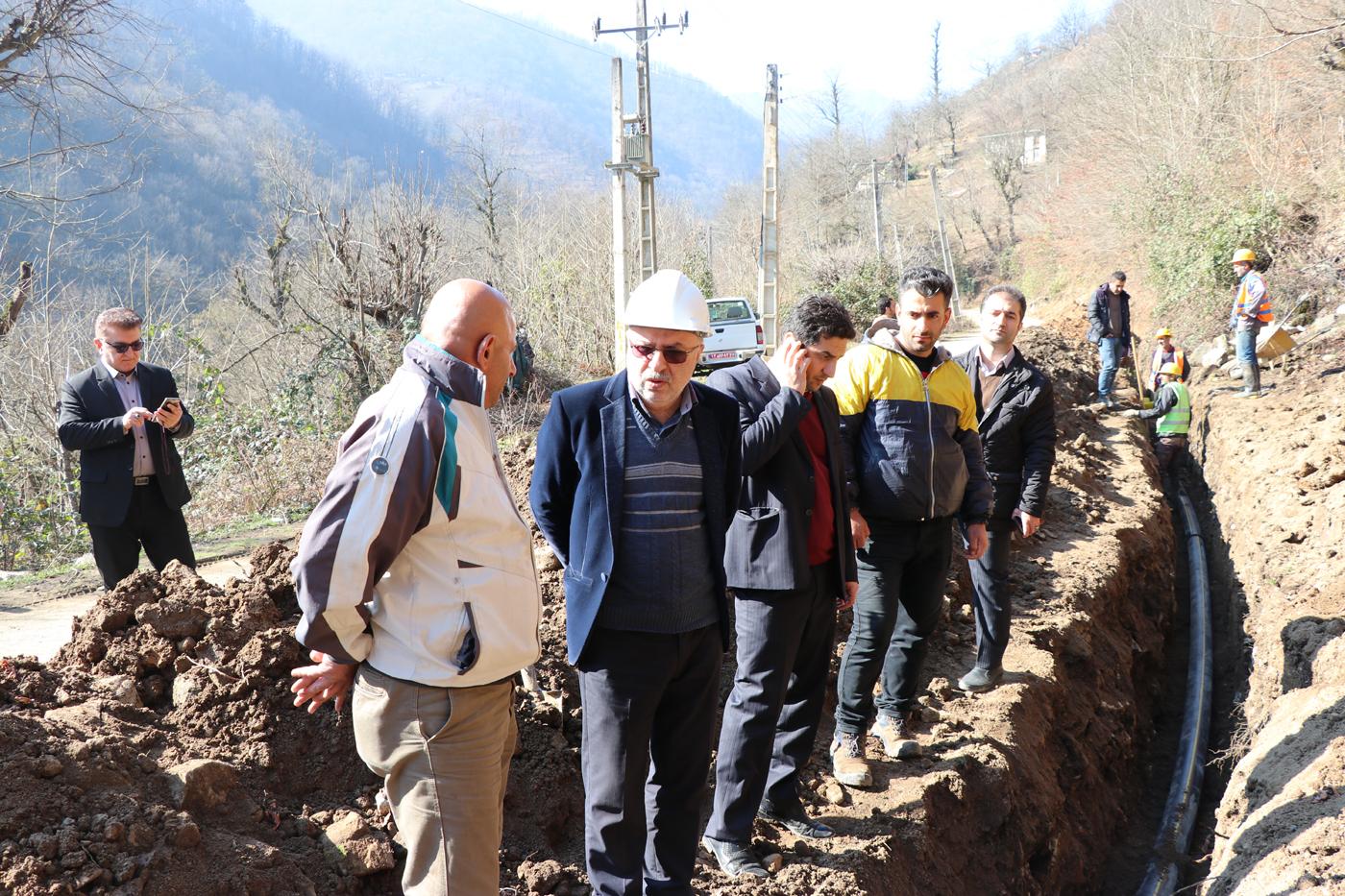 گازرسانی به ۳ روستای کوهستانی در تالش