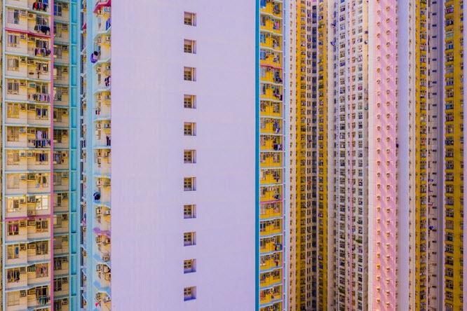 عکس روز نشنال جئوگرافیک از آسمانخراشهای هنگ کنگ