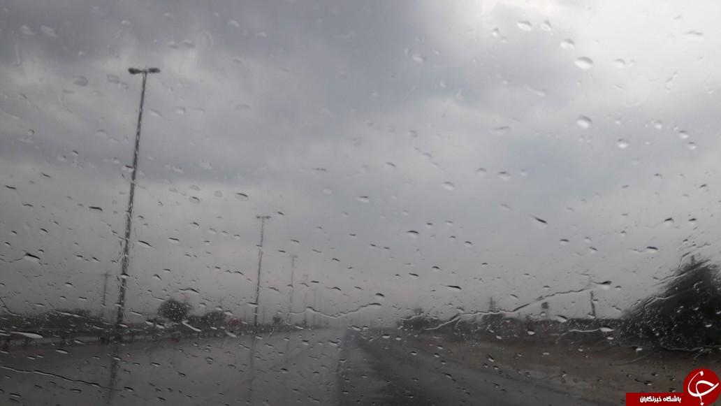 آسمان استان بوشهر آخر هفته بارانی است