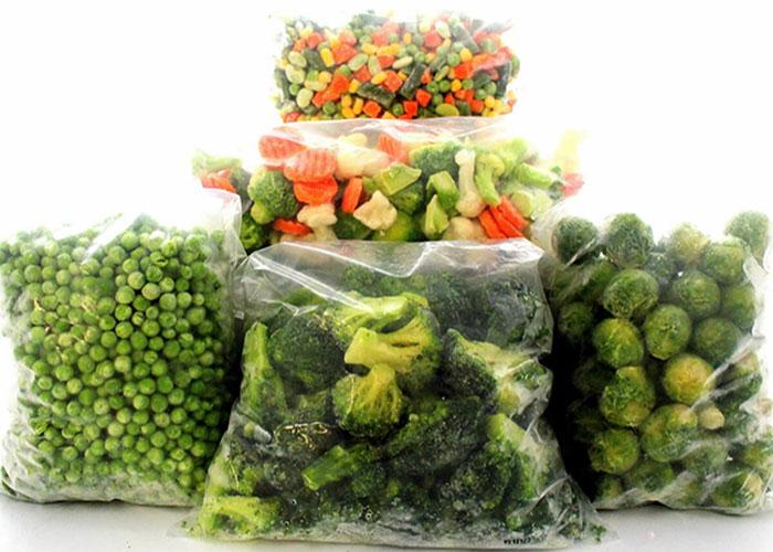 قیمت انواع سبزی منجمد در فروشگاههای زنجیرهای