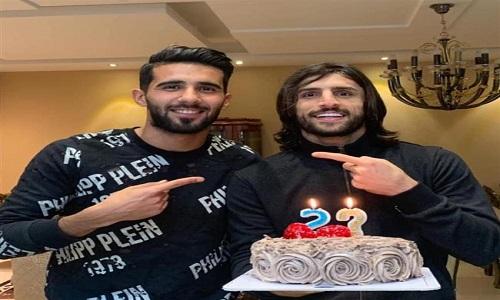 حضور یک پرسپولیسی در جشن تولد بازیکن استقلال