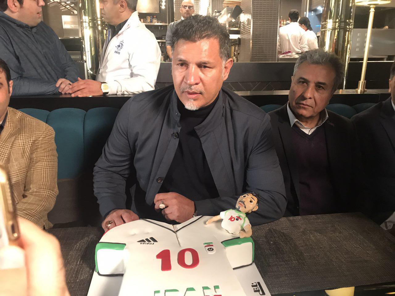 صحبت های جالب علی دایی در مورد وزارت ورزش و فدراسیون فوتبال