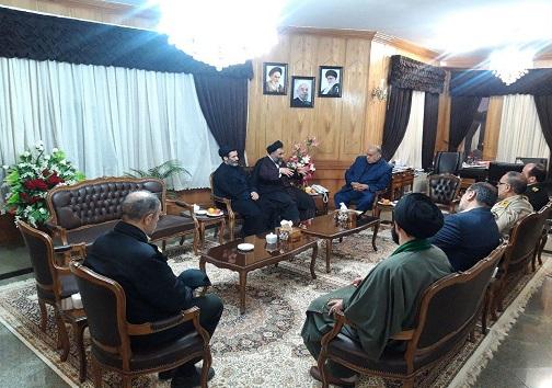 دیدار ریاست عقیدتی و سیاسی ناجا با استاندار کرمانشاه