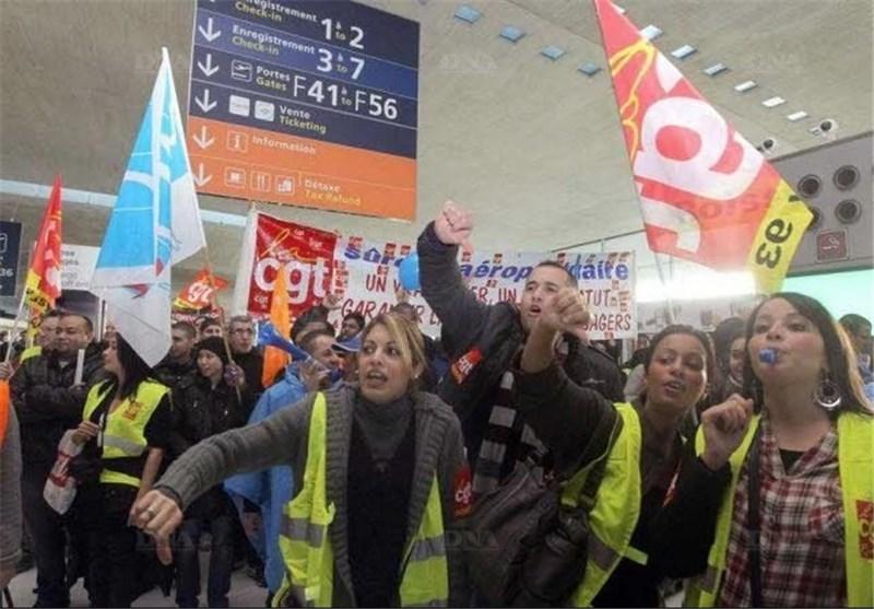 سازماندهی اعتصاب سراسری در فرانسه