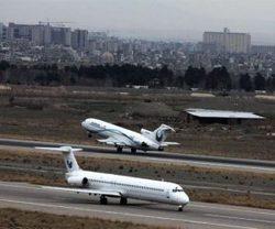 به تعلیق درآمدن پروازهای فرودگاه بین المللی مشهد