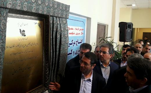 افتتاح چند طرح همزمان با حضور وزیر صمت در یزد