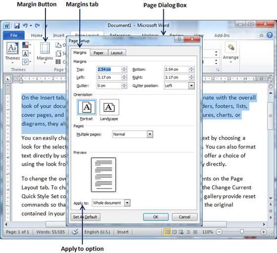 آموزش مایکروسافت ورد | چگونگی ایجاد حاشیه و روش ساخت سرفصل و پاورقی در متن (قسمت ۱۸)