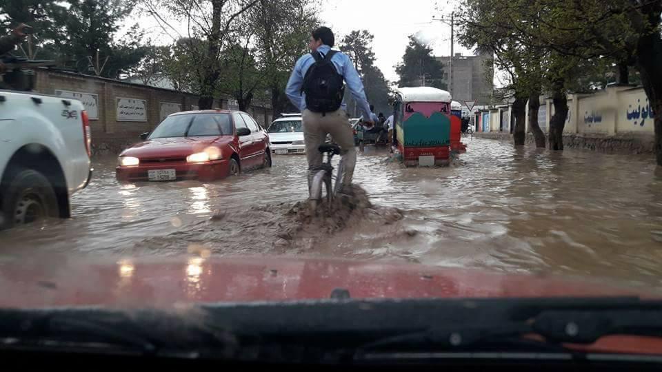 بارندگی در «هرات» رکورد دنیا را شکست!