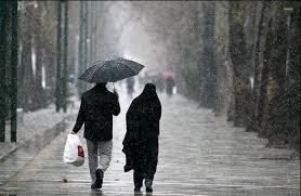 پیش بینی بارش پراکنده باران در استان مرکزی