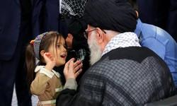 روایت دختر شهید مدافع حرم کلاه صورتی از دیدارش با رهبر انقلاب +فیلم