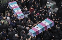 لحظات جانسوز وداع خانواده شهدای حافظ امنیت با عزیزان خود +فیلم