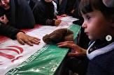 باشگاه خبرنگاران - آخرین دیدار فرزند شهید امید اکبری با پدرش +تصاویر