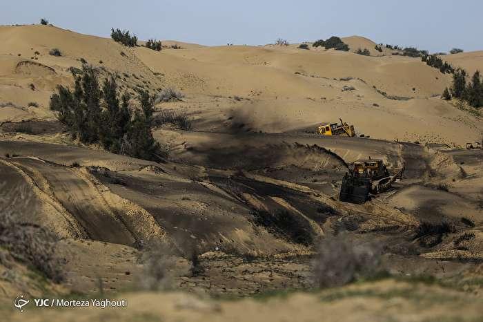 نابودی طبیعت به بهانه مقابله با ریزگردها