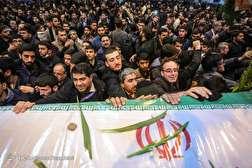 باشگاه خبرنگاران - مراسم وداع با شهدای حادثه تروریستی زاهدان در اصفهان