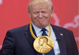 معرفی ترامپ به عنوان نامزد دریافت جایزه صلح نوبل از سوی نخستوزیر ژاپن!