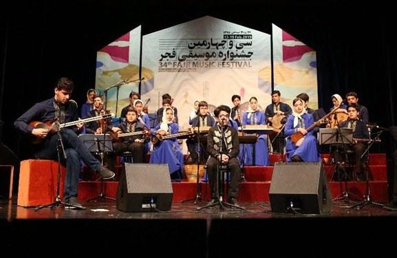 درخشش نوجوانان موسیقی تبریز در سیوچهارمین جشنواره موسیقی فجر