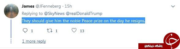 واکنش کاربران به صحبت های ترامپ درباره نامزدی دریافت جایزه نوبل+فیلم وتصاویر