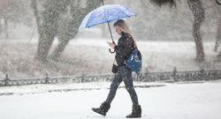 بارش برف سیاه در روسیه! +فیلم