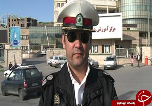 بیمارستان صیاد شیرازی گرگان مشکل پارکینگ دارد