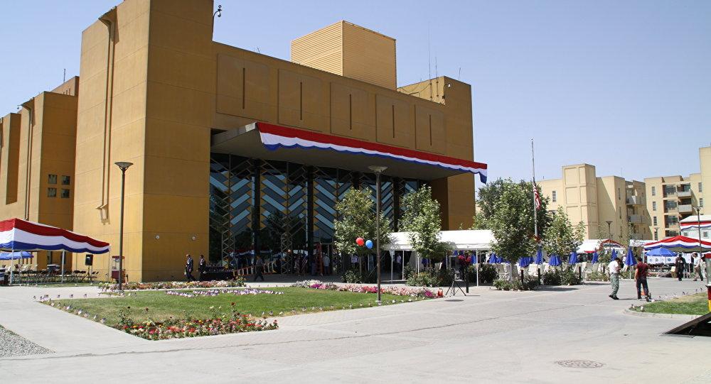 شمار کارمندان سفارت آمریکا در کابل کاهش می یابد