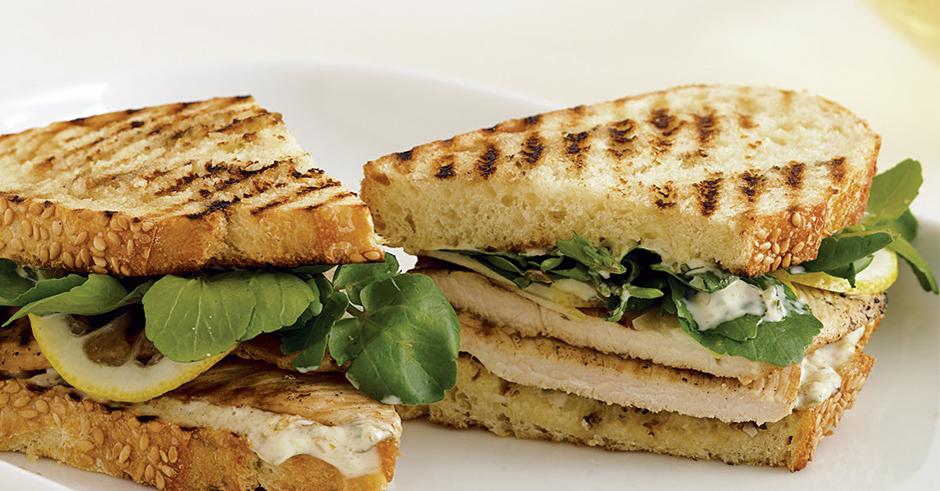 آموزش انواع غذاها پخت ساندویچ گریل