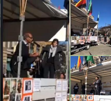 تظاهرات شهروندان افغانستانی مقیم آلمان علیه «اشرف غنی»