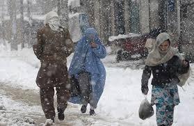 احتمال ریزش برف و باران شدید همراه با سیلاب در چند ولایت افغانستان