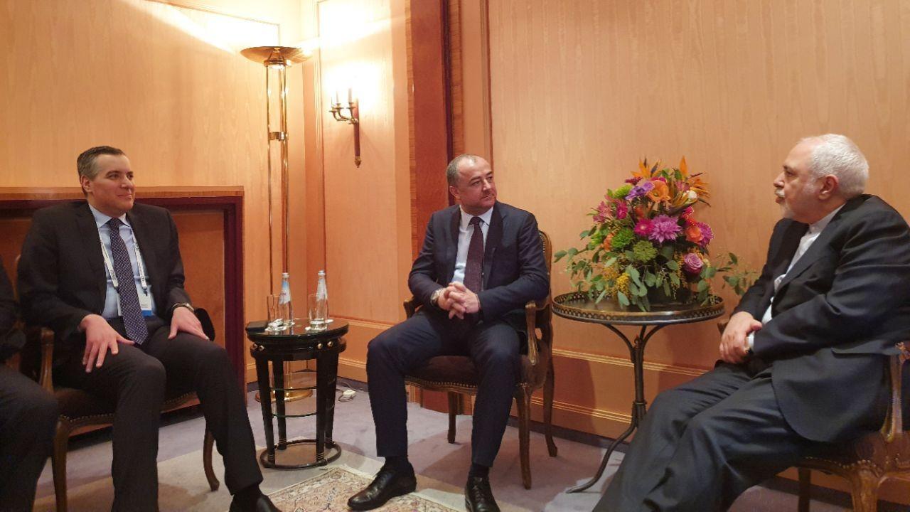 وزیر دفاع لبنان با ظریف دیدار کرد