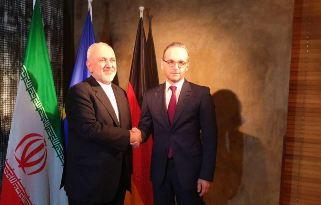 وزیران امور خارجه ایران و آلمان دیدار و گفت و کردند