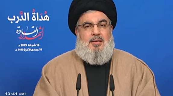 باشگاه خبرنگاران - سید حسن نصرالله:پاسخ ایران به تهدیدات و تحریمها، مشارکت دهها میلیونی در سالگرد چهل سالگی انقلاب بود